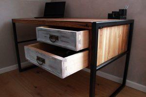 SP Holzträume Schreibtisch Vintage Treibholz